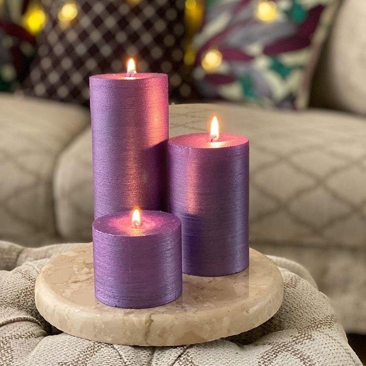 شمع استوانه ای ایمپریال متالیک آمیتیس