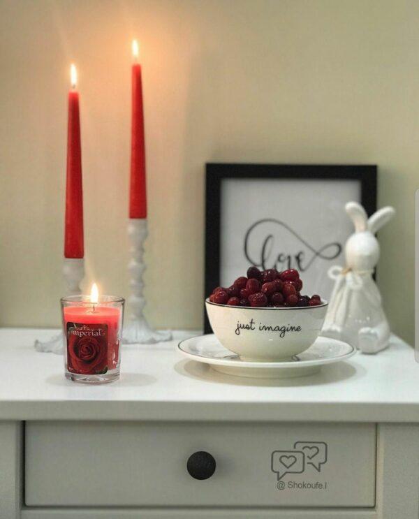 شمع عطری ایمپریال رایحه گل رز