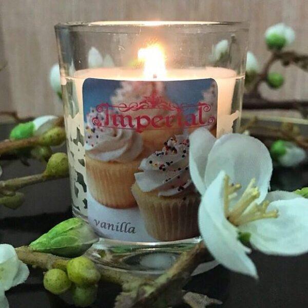 شمع عطری ایمپریال با رایحه وانیل